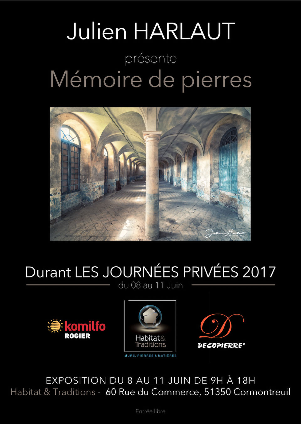 Julien Harlaut Afficheh&t 01